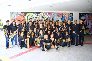 Foto da Banda Sinfônica da UFC