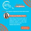 Informações sobre a Live com a professora Carolina Vieira do Projeto Ateliê do Iprede
